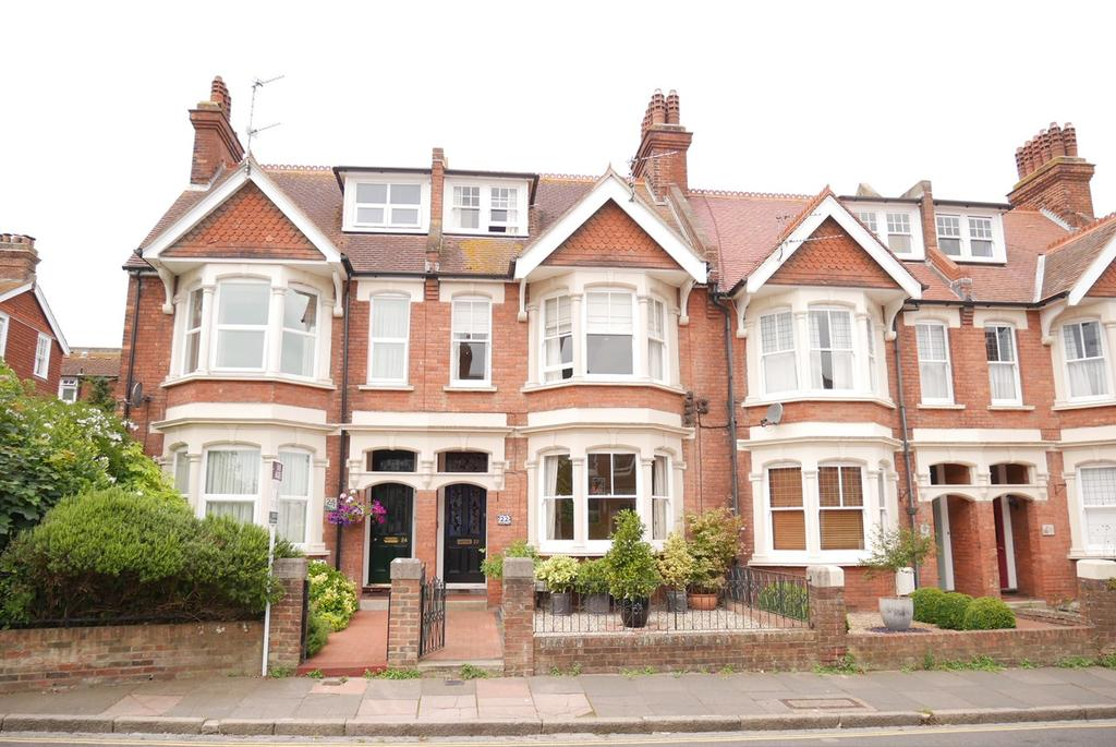 4 Bedrooms Terraced House for sale in Vicarage Road, Old Town, Eastbourne, BN20