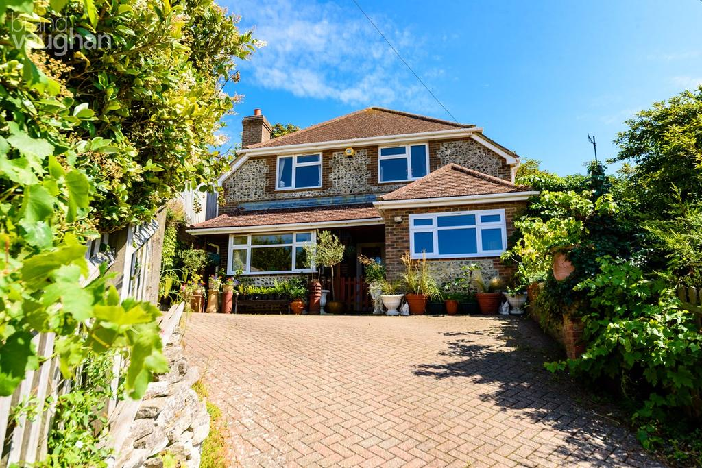 4 Bedrooms Detached House for sale in Ovingdean road , BRIGHTON, BN2