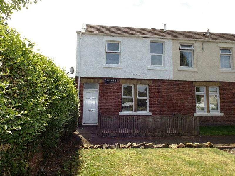 2 Bedrooms End Of Terrace House for sale in East View, Morpeth,