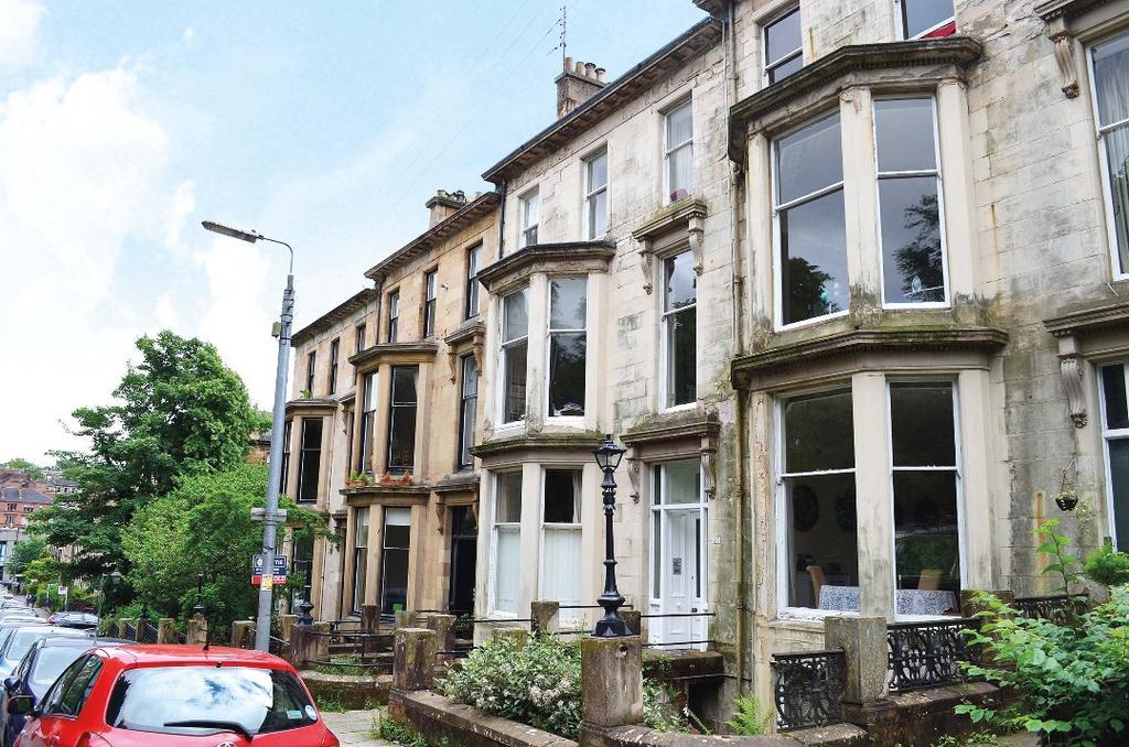 1 Bedroom Flat for sale in Huntly Gardens, Flat 2/2, Dowanhill, Glasgow, G12 9AU