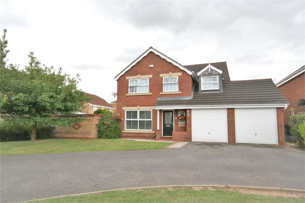 5 Bedrooms Detached House for sale in Wren Crescent, Scartho Top, DN33