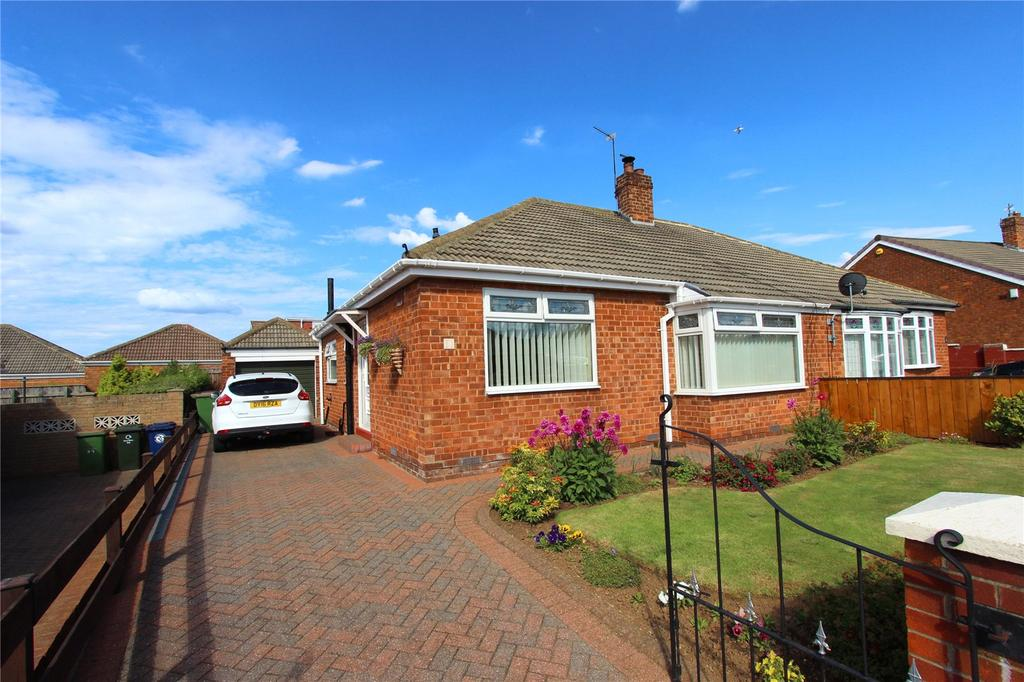 2 Bedrooms Semi Detached Bungalow for sale in Highfield Road, Eston