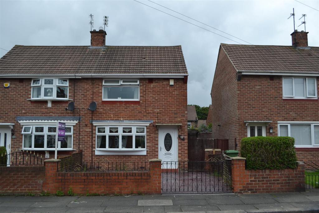 2 Bedrooms Semi Detached House for sale in Hartside Road, Sunderland