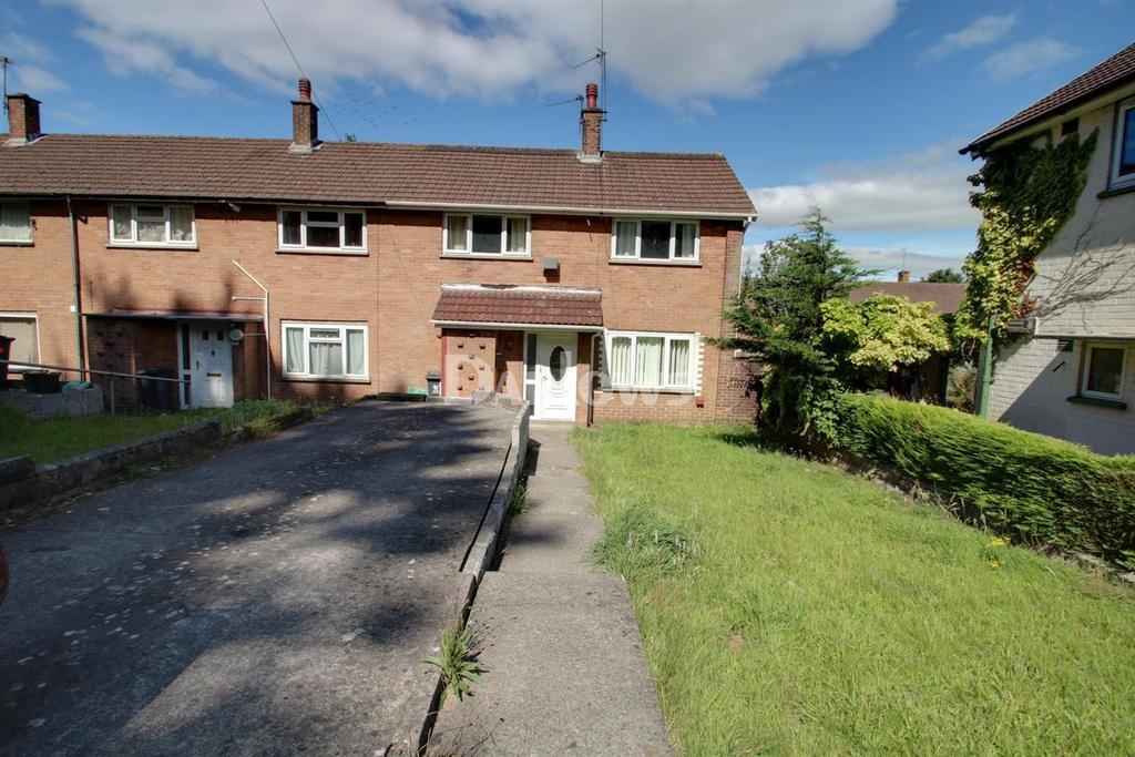3 Bedrooms End Of Terrace House for sale in Chesteton Road, Llanrumney, Cardiff