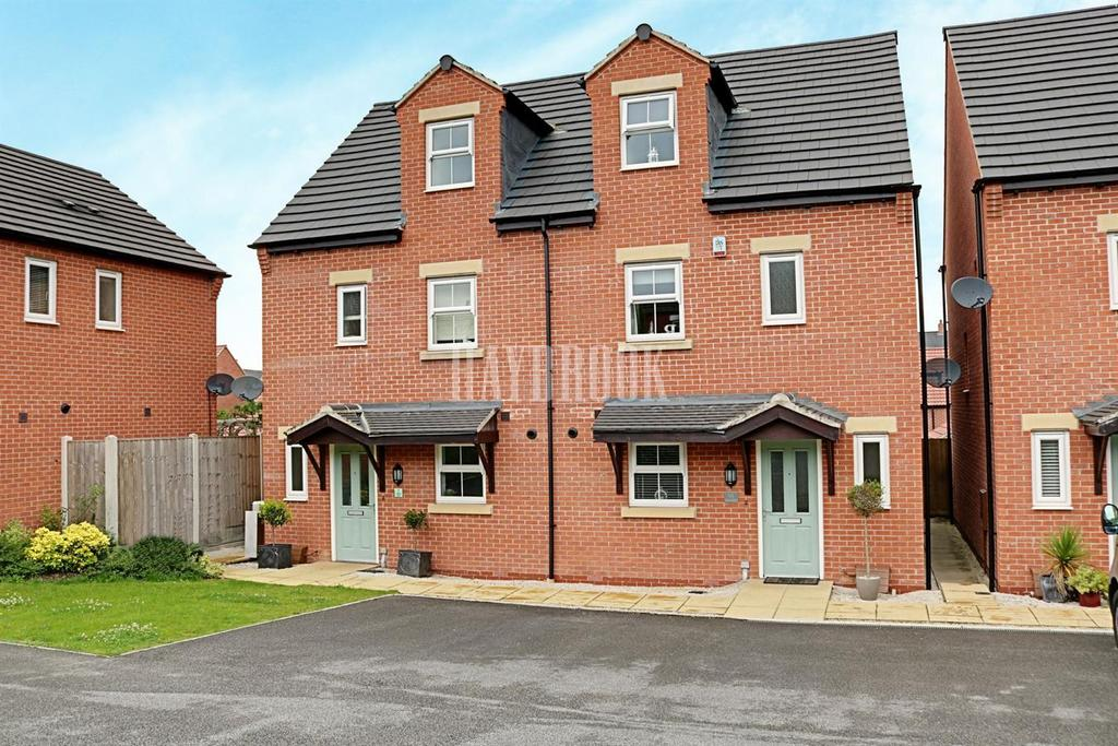 4 Bedrooms Semi Detached House for sale in College Mews, Church Street, Clowne