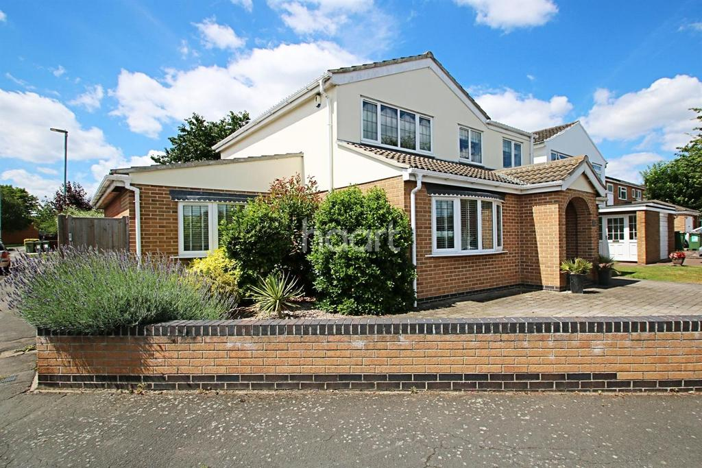 4 Bedrooms Detached House for sale in Fair Isle Way, Countesthorpe, Leicester