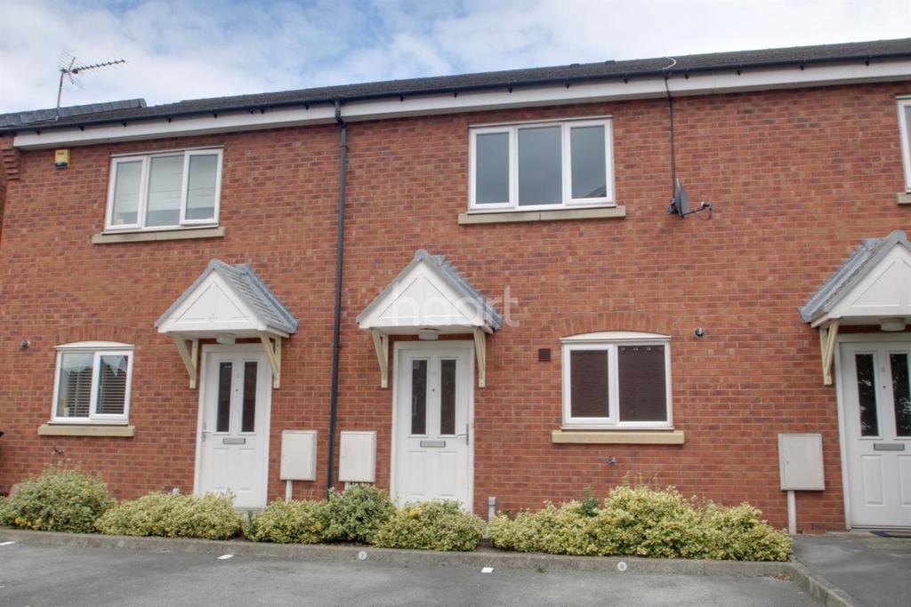2 Bedrooms Terraced House for sale in Florimel Court, Arnold, Nottingham