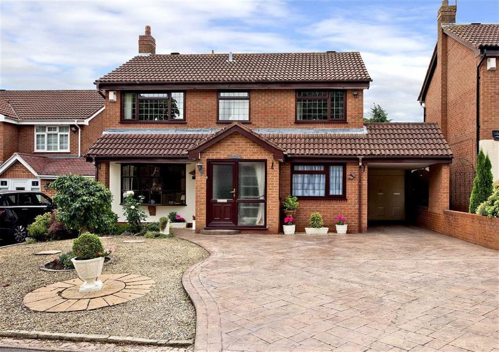 4 Bedrooms Detached House for sale in Staveley, Greenhill, Wombourne, Wolverhampton, South Staffordshire, WV5