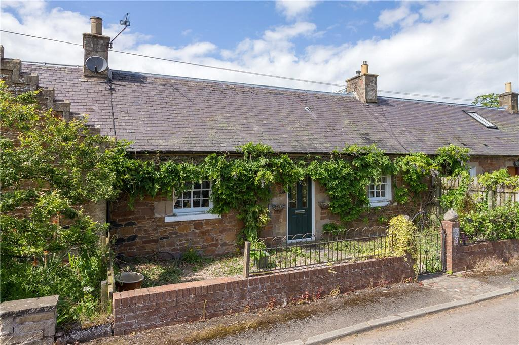 2 Bedrooms Terraced House for sale in Smithy Cottages, Lindean, Selkirk, Scottish Borders