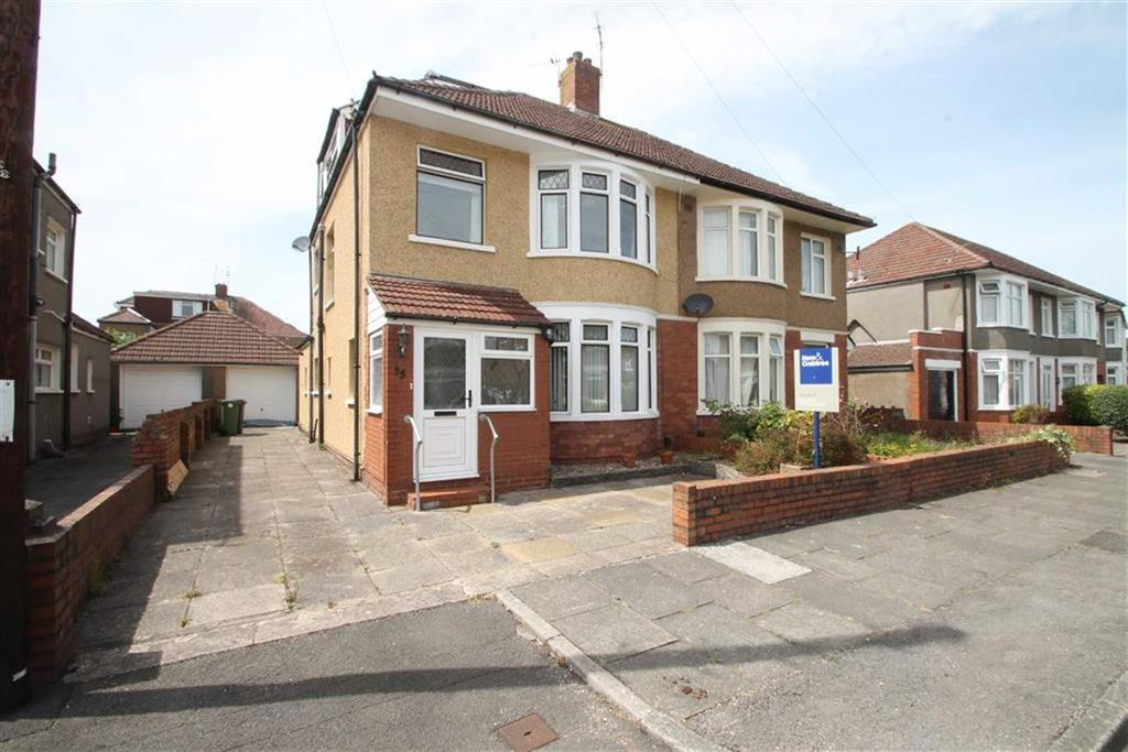 4 Bedrooms Semi Detached House for sale in St. Benedict Crescent, Cardiff