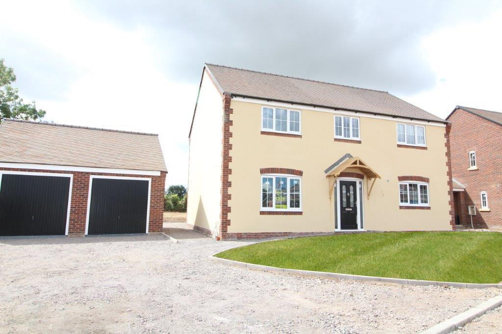 4 Bedrooms Detached House for sale in Plot 3 Bell View, Cross Houses, Shrewsbury