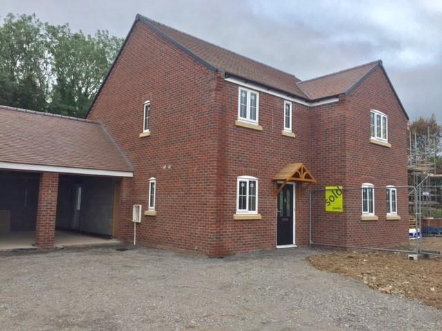 4 Bedrooms Detached House for sale in Plot 5 Bell View, Cross Houses, Shrewsbury