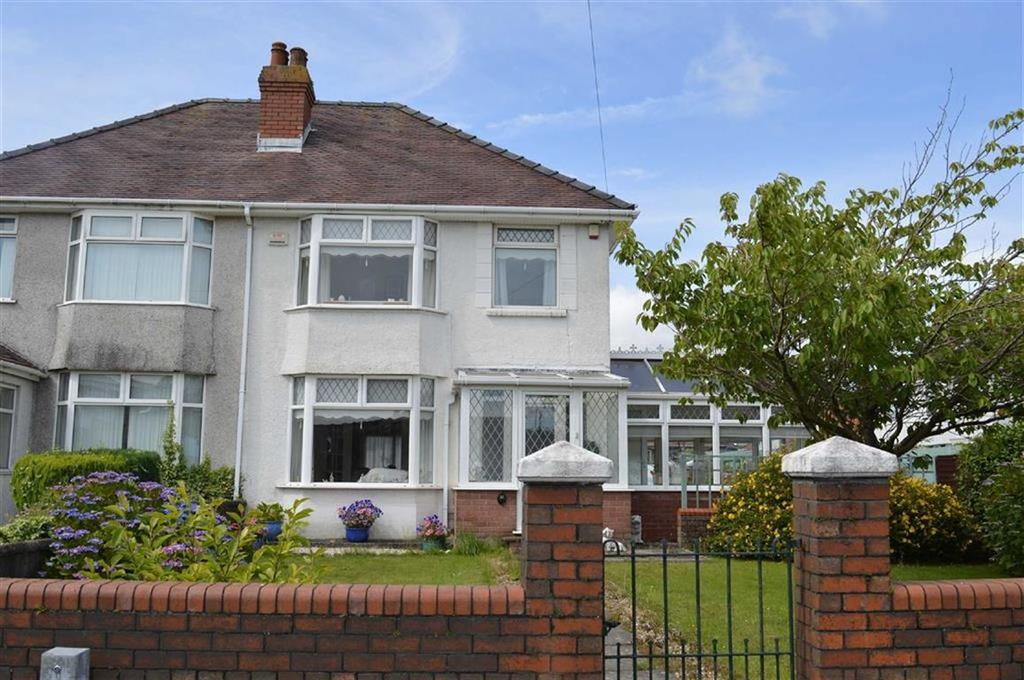 3 Bedrooms Semi Detached House for sale in Gendros Crescent, Swansea, SA5
