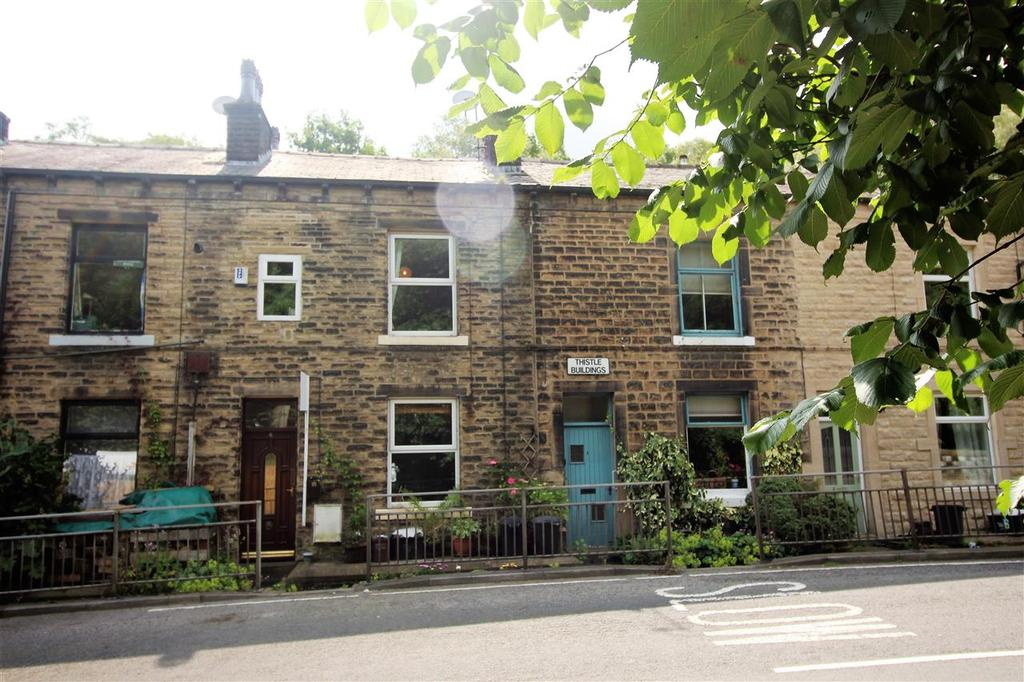 2 Bedrooms Terraced House for sale in Groudle Glen, Charlestown, Hebden Bridge