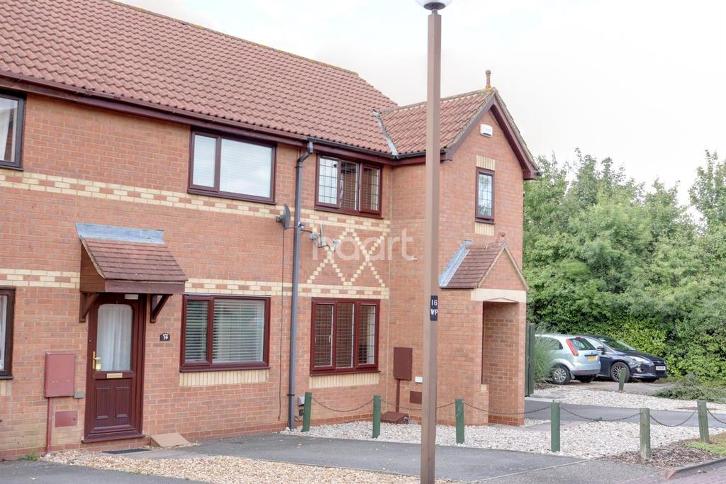 2 Bedrooms Terraced House for sale in Middleton, Milton Keynes