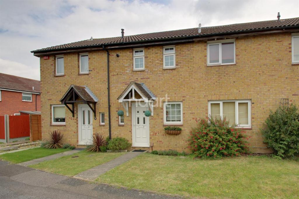 2 Bedrooms Terraced House for sale in Weybridge Close, Lords Wood