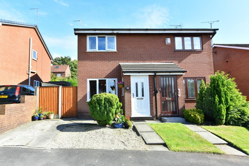 2 Bedrooms Semi Detached House for sale in Rosecroft Close, Ormskirk