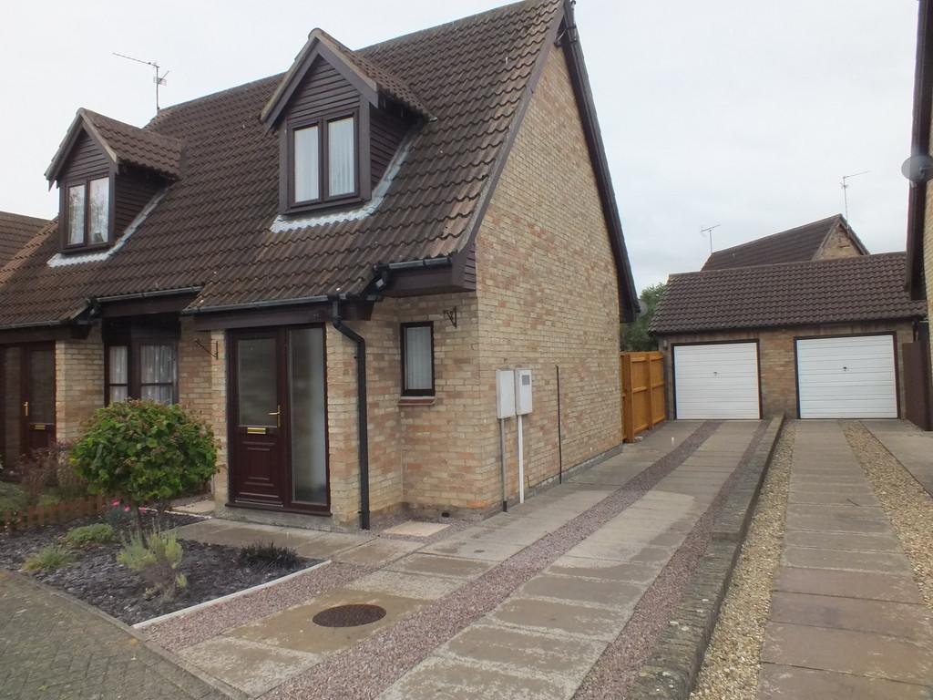 2 Bedrooms Semi Detached House for sale in Beaufort Drive, Spalding