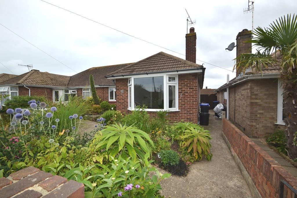 2 Bedrooms Semi Detached Bungalow for sale in Meadow Close, Worthing, BN11 2SF