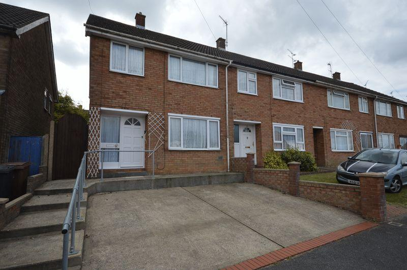 3 Bedrooms End Of Terrace House for sale in Wheatfield Road, Luton