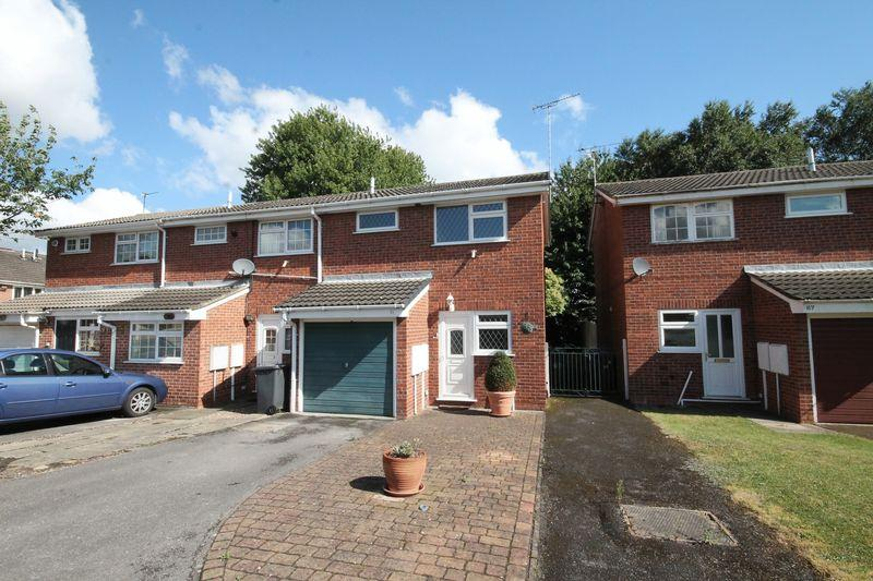 2 Bedrooms End Of Terrace House for sale in Goodwood Drive, Derby