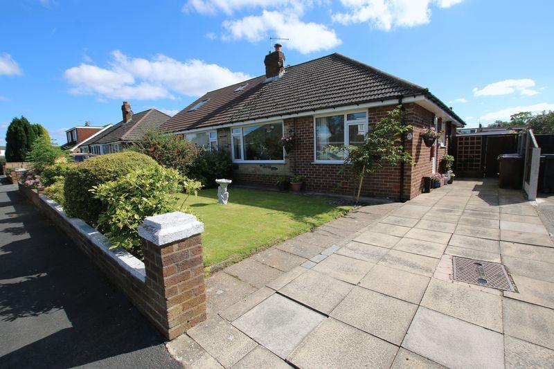 2 Bedrooms Semi Detached Bungalow for sale in Chesham Drive, New Longton