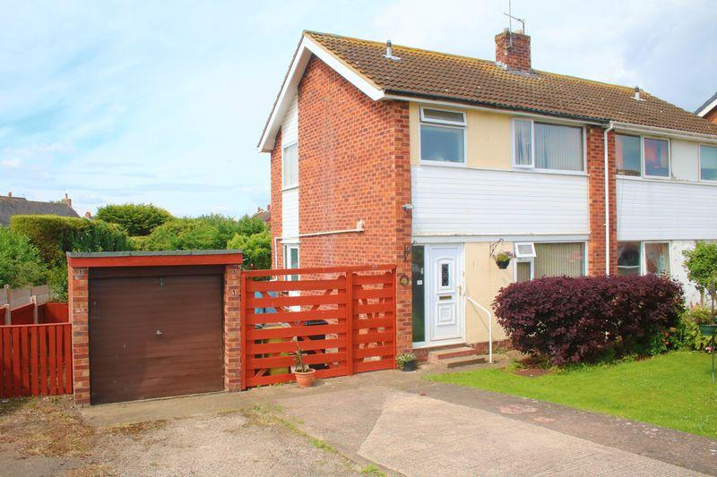 3 Bedrooms Semi Detached House for sale in Heol Hendre, Rhuddlan
