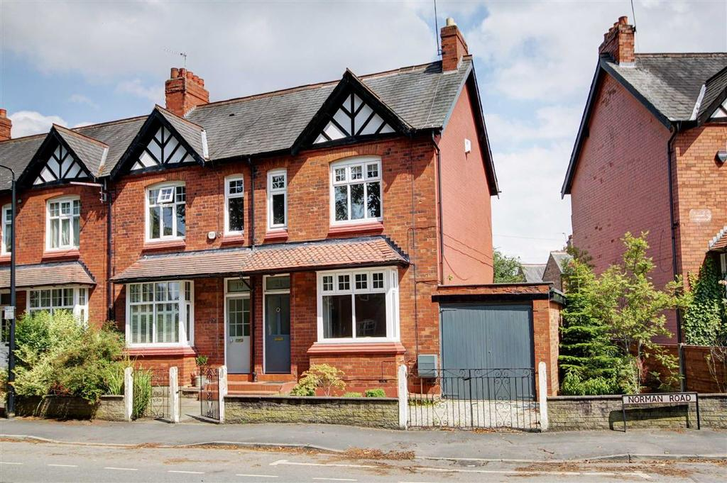 3 Bedrooms Terraced House for sale in Norman Road, Altrincham, Cheshire