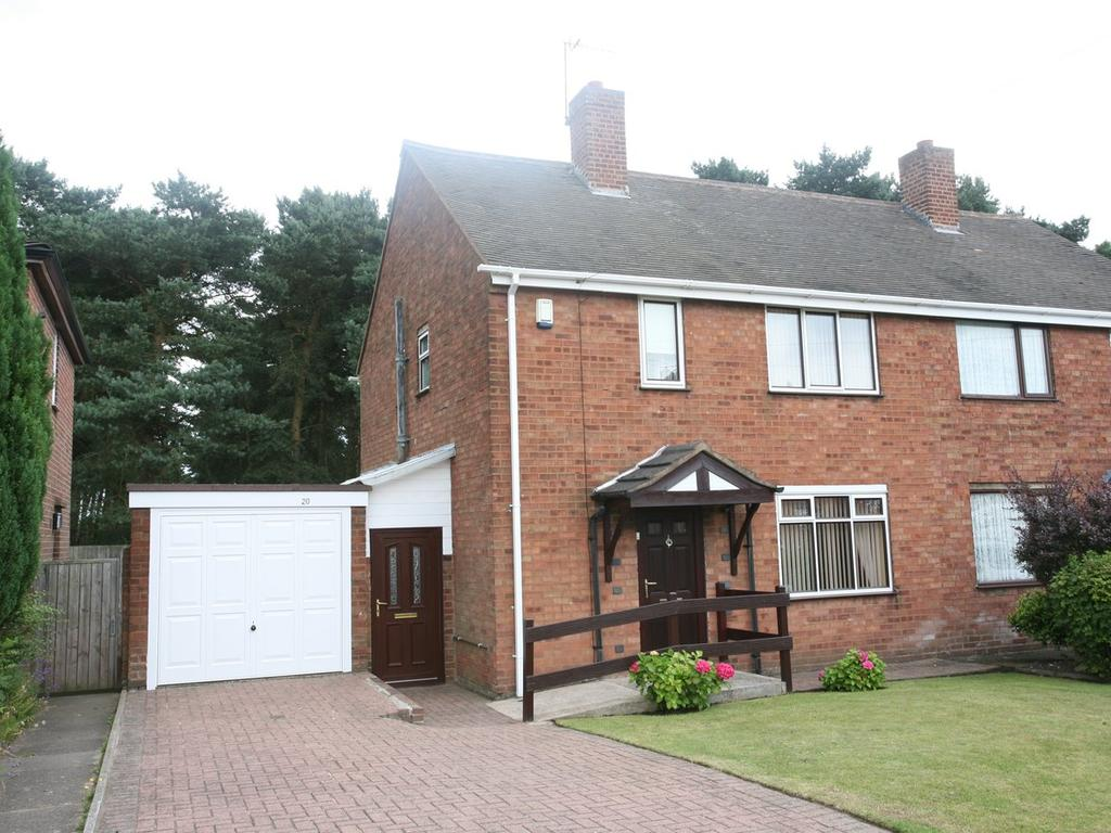 3 Bedrooms Semi Detached House for sale in 20 Mendip Road, Pye Green, Cannock, WS12 4EZ