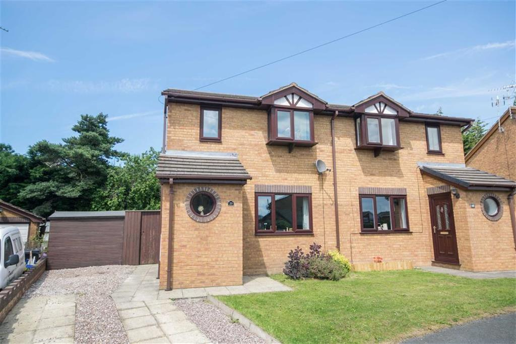 2 Bedrooms Semi Detached House for sale in Moorefields, Buckley