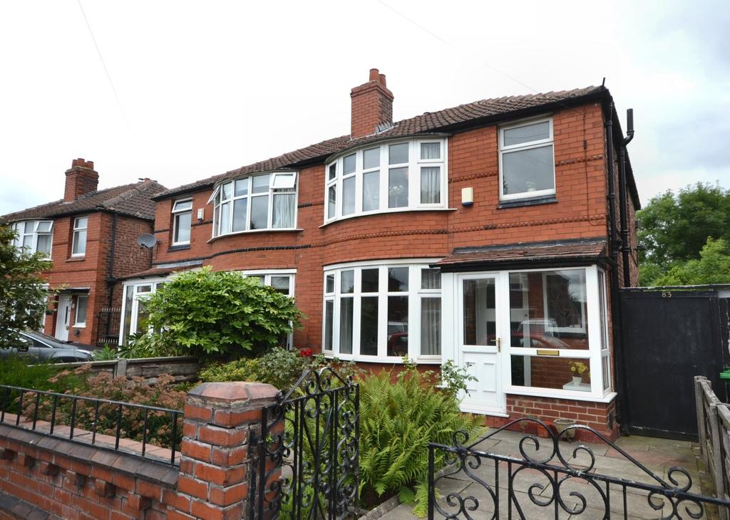 3 Bedrooms Semi Detached House for sale in Heathside Road, Withington