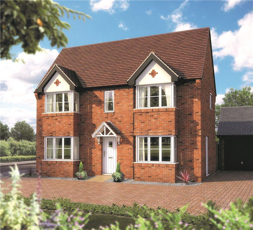 3 Bedrooms Link Detached House for sale in Stratford Leys, Bishopton Lane, Bishopton, Stratford-upon-Avon, CV37
