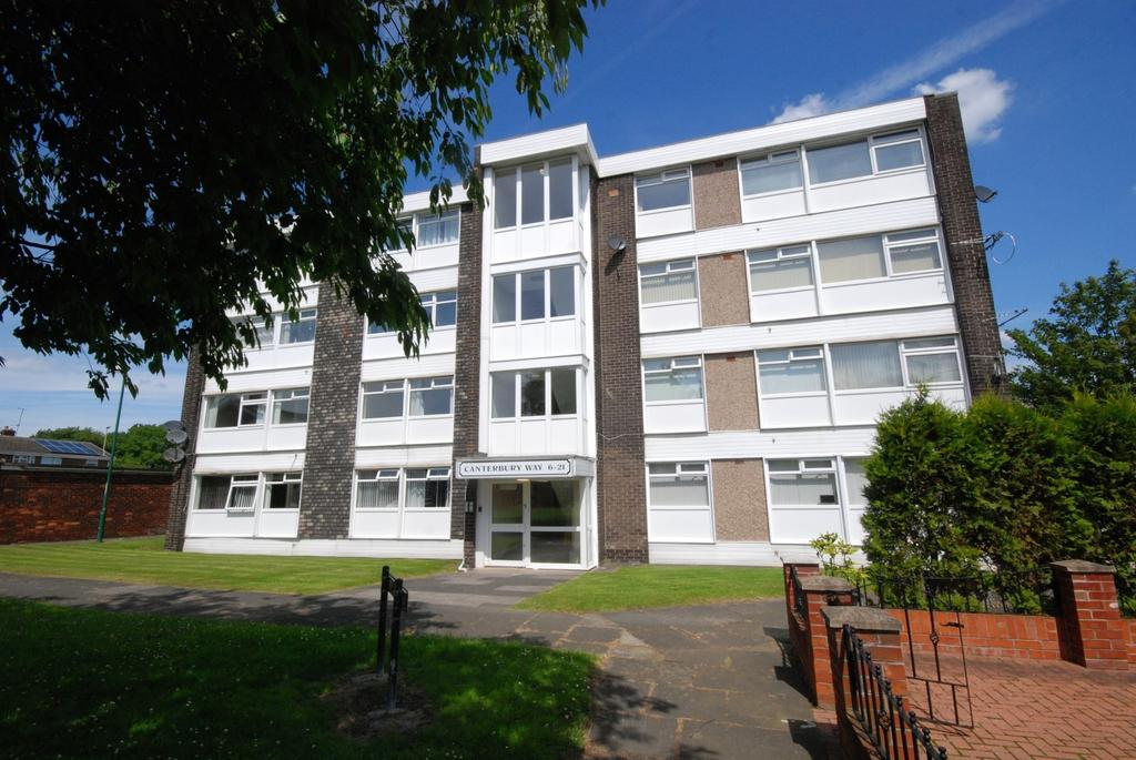 2 Bedrooms Flat for sale in Canterbury Way, Fellgate, Jarrow