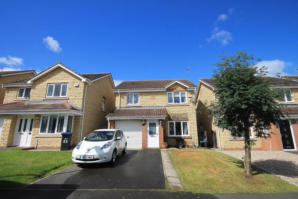 3 Bedrooms Detached House for sale in Oakfields, Hunwick