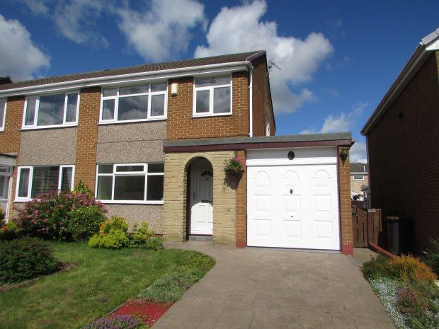 3 Bedrooms Semi Detached House for sale in GRASMERE, SPENNYMOOR, SPENNYMOOR DISTRICT