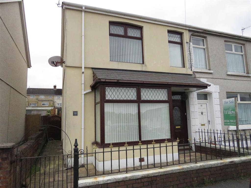 3 Bedrooms Semi Detached House for sale in Havard Road, Llanelli