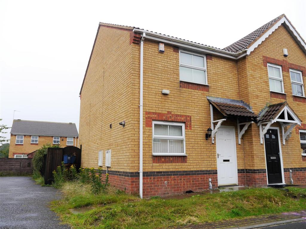 2 Bedrooms Semi Detached House for sale in Portree Drive, Buttershaw, Bradford. BD6 3UG
