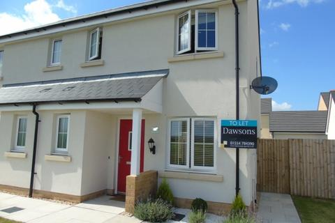 3 bedroom semi-detached house to rent - 4 Rhes Brickyard/ Brickyard Row Machynys Llanelli