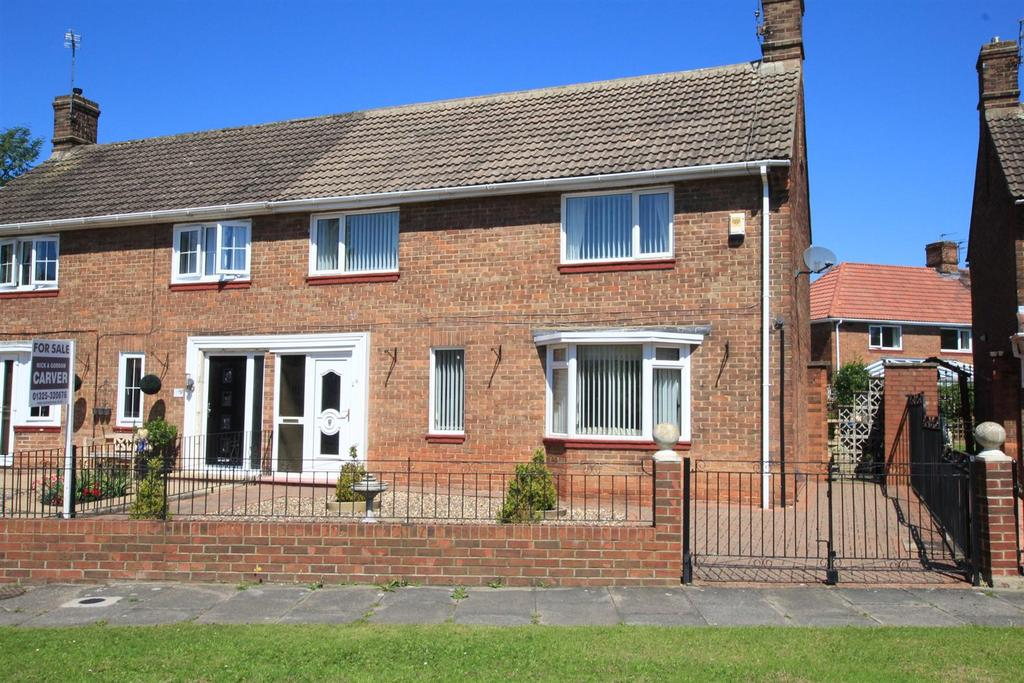 3 Bedrooms Semi Detached House for sale in Lumley Close, Newton Aycliffe