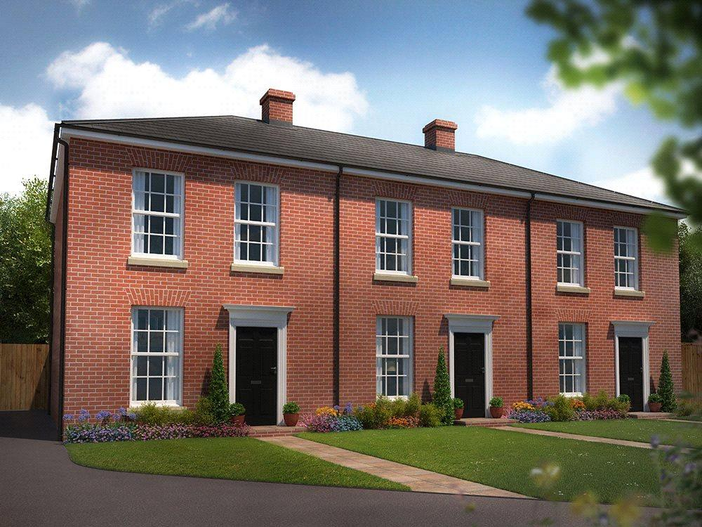 2 Bedrooms Terraced House for sale in Plot 19, St George's Park, George Lane, Loddon, Norwich, NR14