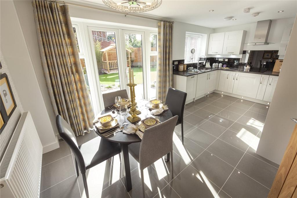 3 Bedrooms Semi Detached House for sale in Plot 46 Firs Park, Eversley Road, Norwich, NR6