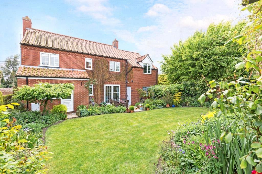 4 Bedrooms Detached House for sale in Manor Lane, Carlton-le-Moorland, Lincoln, LN5