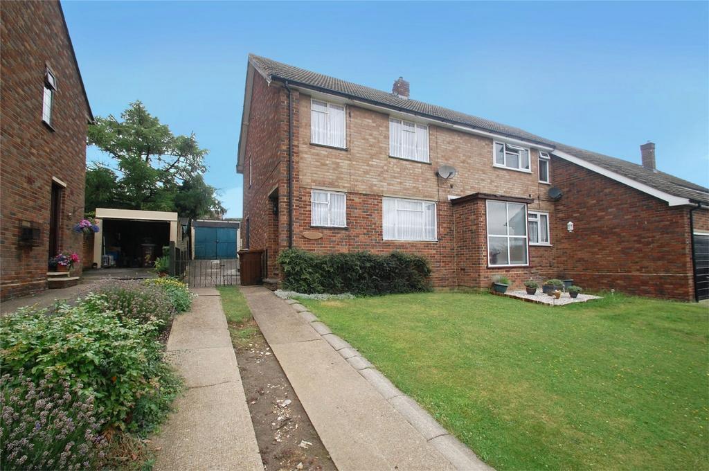 3 Bedrooms Semi Detached House for sale in Lonsdale Drive, Rainham, Kent