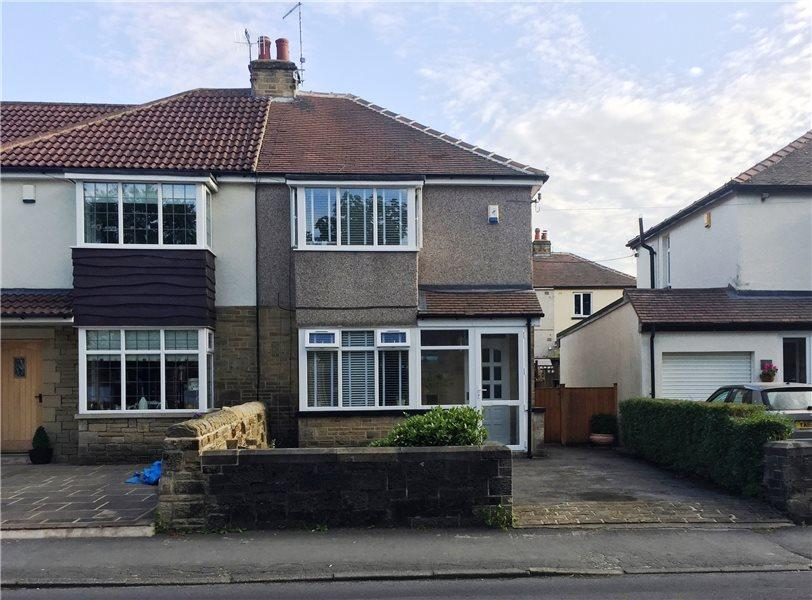 2 Bedrooms Semi Detached House for sale in MAIN STREET, MENSTON, ILKLEY, LS29 6LF