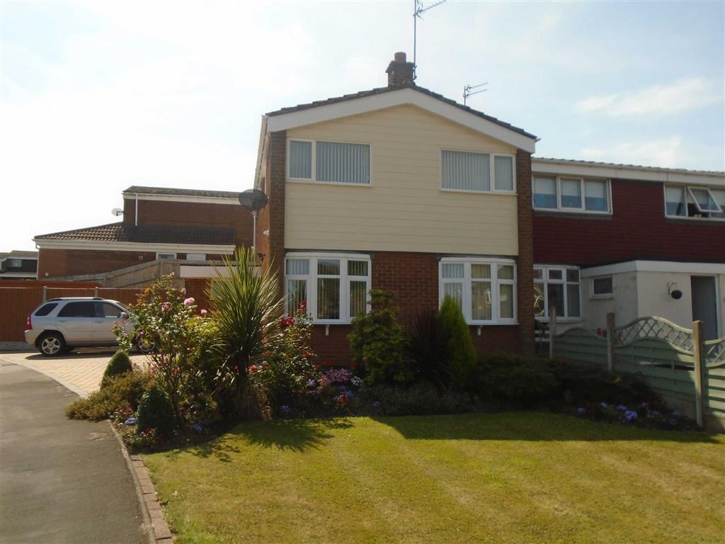 3 Bedrooms Semi Detached House for sale in Amos Avenue, Coton, Nuneaton, Warwickshire, CV10