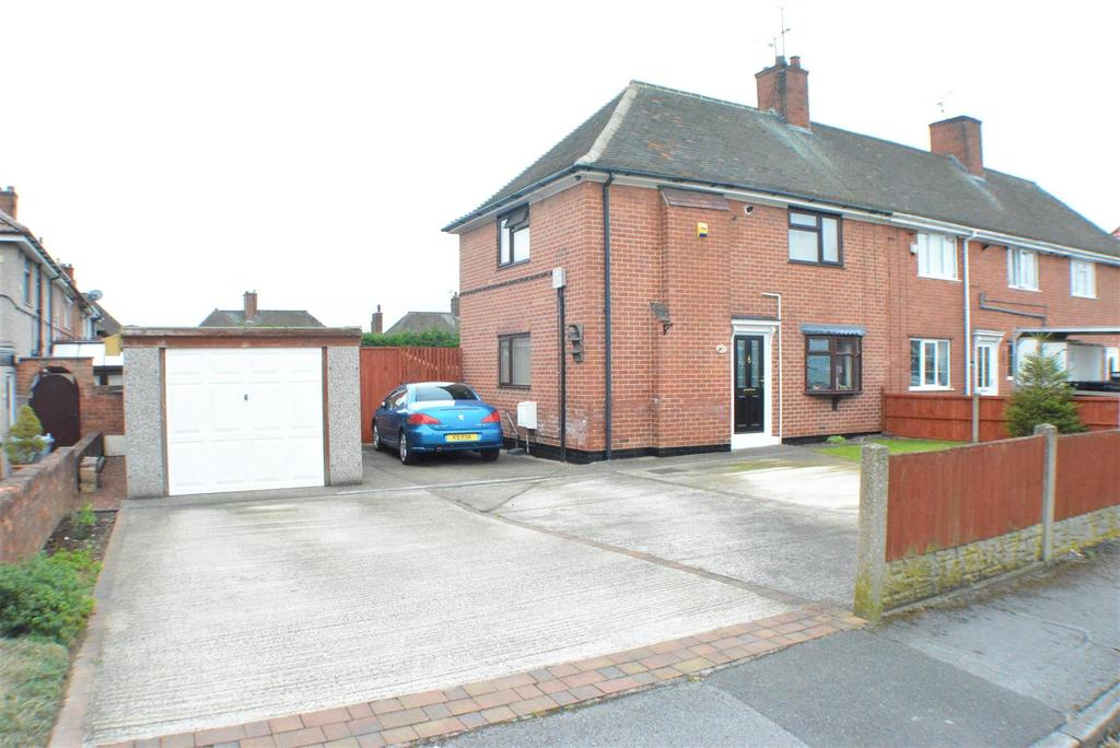 3 Bedrooms Terraced House for sale in Fourth Avenue, Edwinstowe, Mansfield