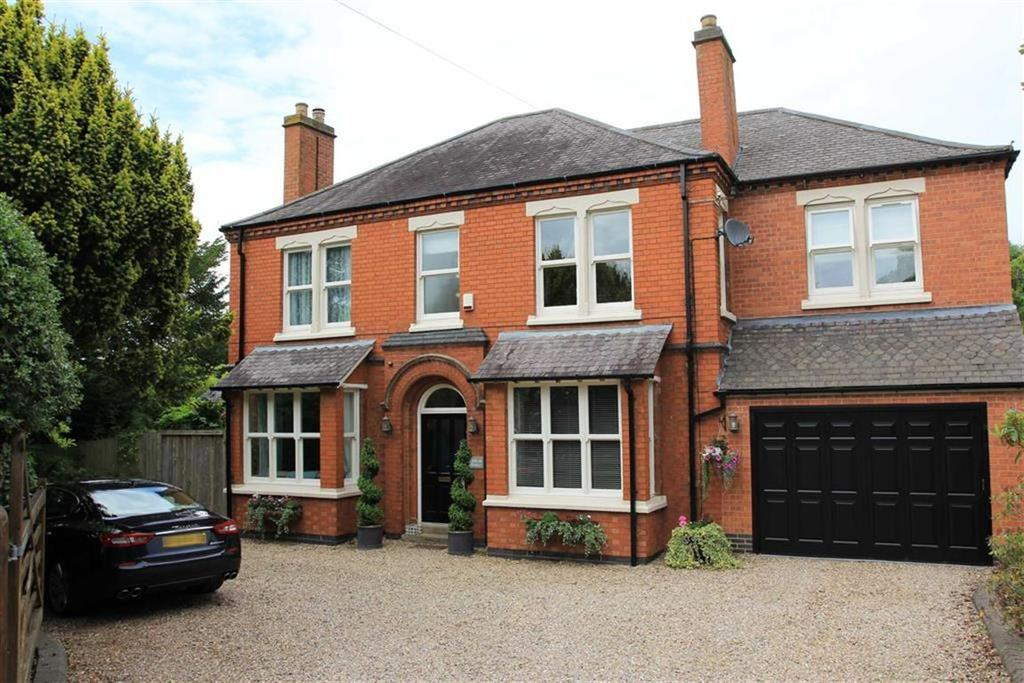 5 Bedrooms Detached House for sale in Kirby Lane, Kirby Muxloe, Leicester