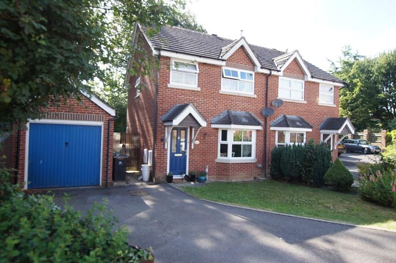 3 Bedrooms Semi Detached House for sale in Counter Close, Blandford Forum