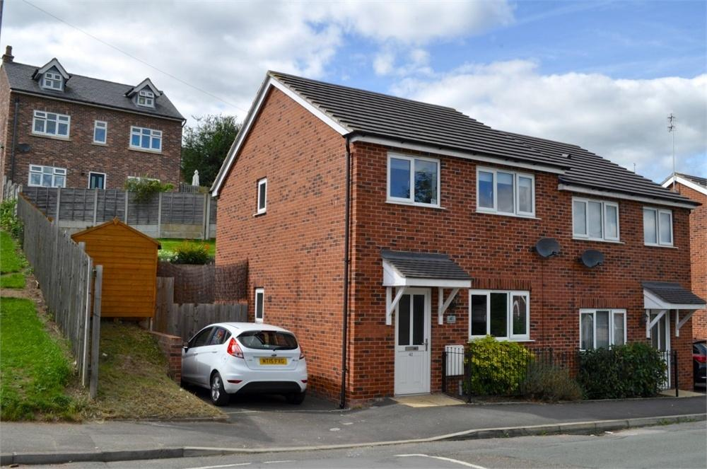 3 Bedrooms Semi Detached House for sale in Spencer Street, Castle, NORTHWICH, Cheshire