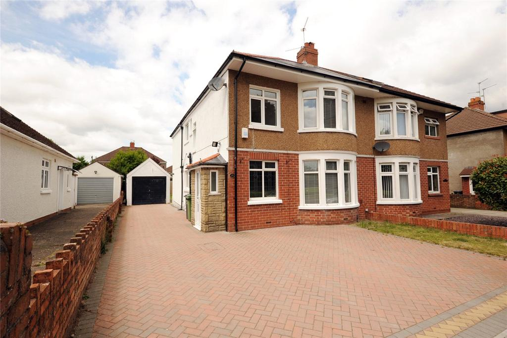 4 Bedrooms Semi Detached House for sale in King George V Drive West, Heath, Cardiff, CF14